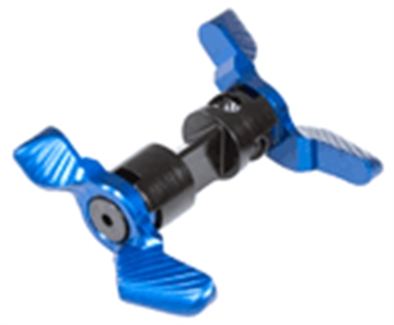Picture of Odin Works Ambidextrous Modular Safety Blue For Ar-15