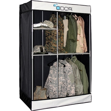 Picture of Odor Crusher Tactical Crusher Tactical Ozone Deluxe Flex Closet Black