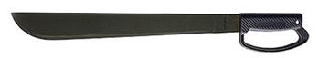 "Picture of Okc 8514 Machete 18"" 1095 Carbon Blade Black Synthetic D Handle"
