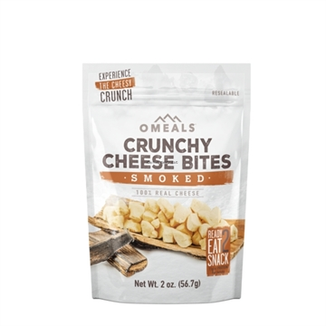 Picture of Omeals Self Heating Adventure Bites, Smoked Cheese Bites, 2Oz, Freeze-Dried Cheddar Cheese