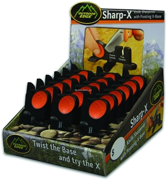 Picture of Outdoor Edge 18 Piece Sharp-X Knife Sharpener Display