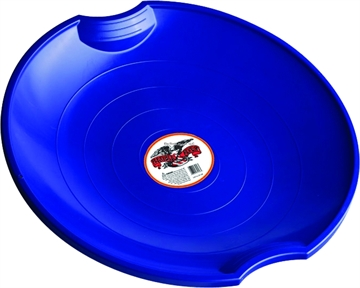 Picture of Paricon Plastic Saucer Blue Saucer W/Molded Hand Grips