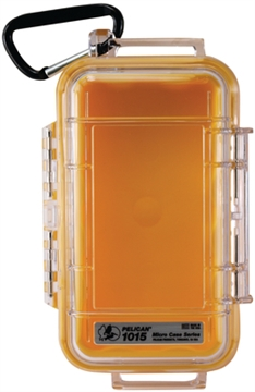 Picture of Pelican 1015 Micro Case Yellow/Clear