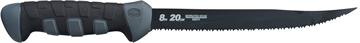 "Picture of Penn Fishing Tackle 8"" Serrated Edge Fillet Knife Black/Grey"