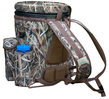 Picture of Peregrine Pfgvb1sgb Venture Bucket Pack Shooting Bag Bucket Nylon  Mossy Oak Sha