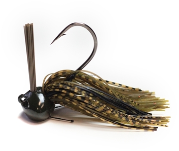 Picture of Perfection Lures Football Jig 1 Oz, Golden Crawl 1 PK