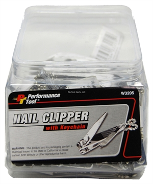Picture of Performance Tool Nail Clipper W/Keychain 50Ct