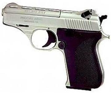 "Picture of Phoenix 22Lr Pistol 3"" Nickle"