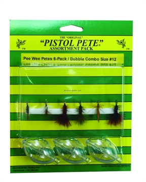 Picture of Pistol Pete Pee Wee Bubble Combo Kit, SZ 12, 6/Pack