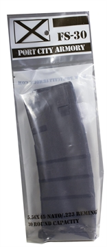 Picture of Port City Armory Llc  Fs30 Ar-15 Mag 223 Remington/5.56 Nato 30 RD Poly Black