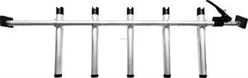 Picture of Portarod Offshore 5 Rod Holder, , 1.476? Dia. Beam, Expands 63? TO 89?, Fits Full And Super Duty Trucks,  Aluminum Body