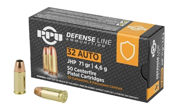 Picture of Ppu 32Acp Jhp 71Gr 50/1000