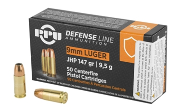 Picture of Ppu 9Mm Jhp 147Gr 50/1000