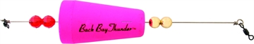"""Picture of Precision Tackle Back Bay Thunder 2-3/4"""" Wghted Cone Pink"""