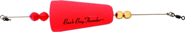 """Picture of Precision Tackle Back Bay Thunder 2-3/4"""" Wghted Cone Sunglo"""