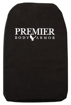 Picture of Premier Body Armor Large 11 X 16.5 Cordura Bla
