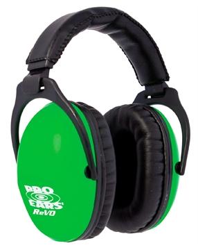 Picture of Pro Ears Passive Revo Ear Muffs Green Pe26-U-Y-003