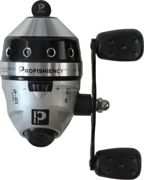 Picture of Profishiency Micro-Spincast Reel, 4.1:1 Gear Ratio, 6Lb Braid Line