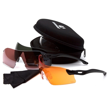 Picture of Dropzone Shooting Glasses Multi Color Lens Blk Frame