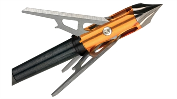 """Picture of Rage Chisel Tip X Crossbow3-Blade Broadhead 100Gr 1.6"""" Cut"""