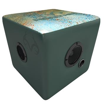Picture of Rainmaker Realtree Bluetooth Speaker Ottoman-Aqua