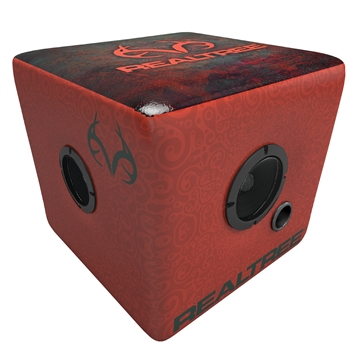 Picture of Rainmaker Realtree Bluetooth Speaker Ottoman-Red