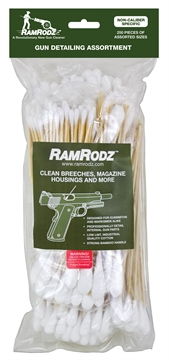 Picture of Ramrodz 80250 Gun Detailing Assortment Cleaning Swab/Handles All Calibers