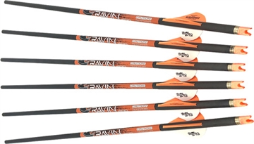Picture of Ravin Carbon Crossbow Arrows 400 Grain .003 - Six Pack