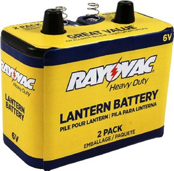 Picture of Ray O Vac 6V HD Lantern Battery 2Pk