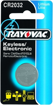 Picture of Ray O Vac 2032 Lithium Keyless Entry Coin Battery 3 Volt 1-Pack