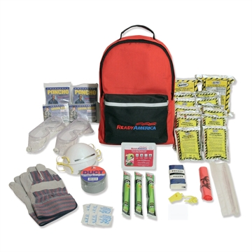 Picture of Ready America 2 Person Hurricane Emergency Kit 3 Day Pack