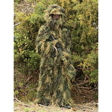 Picture of Red Rock 5-Piece Ghillie Suit Woodland - X-Large-2X-Large