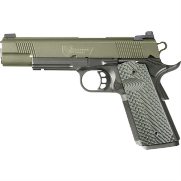 """Picture of Republic Forge Forge Raider .45Acp Fns 5"""" Sniper Green Slide/Blk"""
