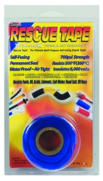 Picture of Rescue Tape Blue Clamshell