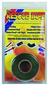 Picture of Rescue Tape Green Clamshell