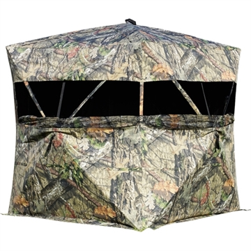 """Picture of Rhino Metals, Inc 600 Ground Blind Mossy Oak Bu-Country 77""""X77""""X71"""""""