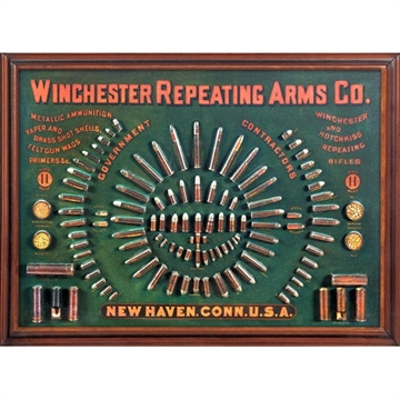 "Picture of Rockin' W Brand Brand Winchester ""1884"" Cartridge Board Sign"