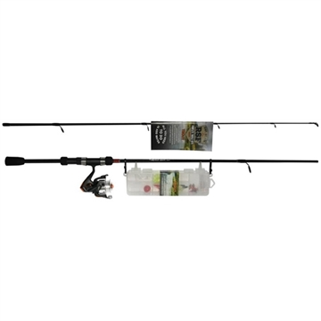 """Picture of Roddy Ready.Set.Fish Trout Combo With 27Pc Tackle Kit,  6'6"""" 2-Pc Rod, 30 Size Reel With 8Lb Test Line"""