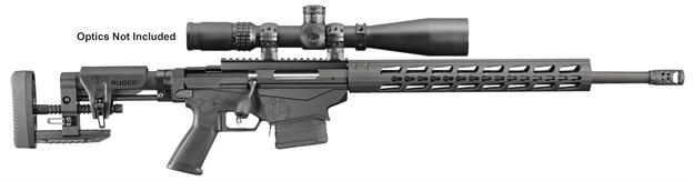 """Picture of Ruger Precision.308 Winchester 20"""" Matte Black W/Muzzle Brake"""