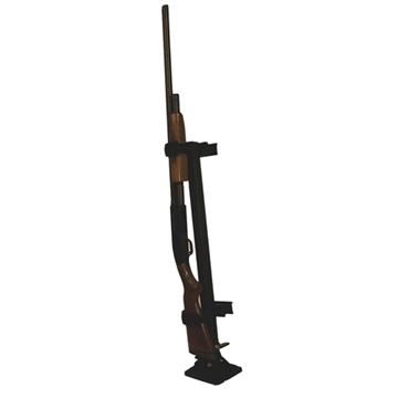 Picture of Rugged Gear 10083 Floor Mount Gun Rack Black Metal Universal