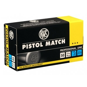 Picture of Rws .22Lr Pistol Match 40Gr 50/Bx