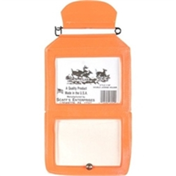 Picture of Scaffs Double License Holder Vinyl Hunter Orange For Buck & Doe