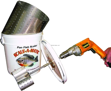 Picture of Scale-A-Matic Bucket Fish Scaler Scale 30 Panfish IN 2 Minutes
