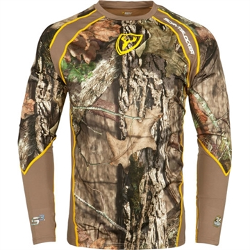 Picture of Scent Blocker Blocker 1.5 Base Layer Shirt W/Trinity S3 Rt-Edge Lrg