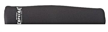 """Picture of Sentry 10Sc08bk Scopecoat Standard Scope Cover 14""""X52mm Large Slip ON Neoprene/Nylon Laminate Black"""