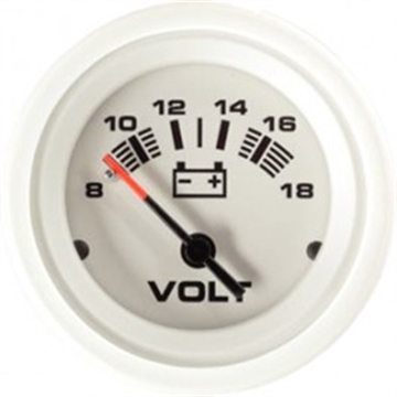 Picture of Seastar Solutions 12V Voltmeter 8-18V Arctic