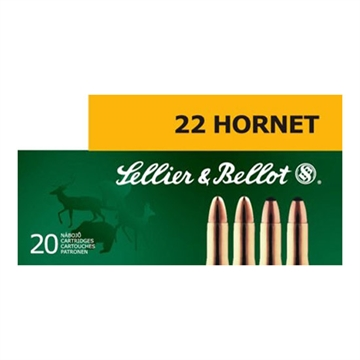 Picture of S&B 22 Hornet 45Gr SP 20/1800