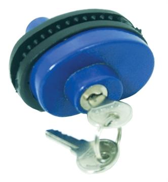 Picture of Shot Lock Keyed Gun Lock Blue