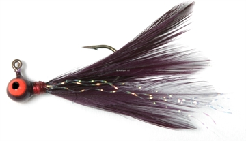Picture of Shur Strike 00 Feather Jigs W / Accent 1/16 Oz, 2/Pk, Purple