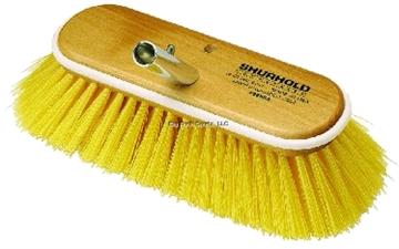 """Picture of Shurhold 10"""" Medium Yellow Deck Brush"""